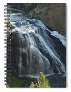 Gibbon Falls I Spiral Notebook