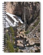 Gibbon Falls Spiral Notebook