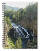 Gibbon River And Falls Spiral Notebook