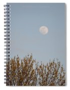 Gibbous Nature Spiral Notebook