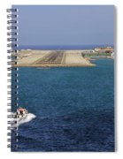 Gibraltar International Airport Spiral Notebook