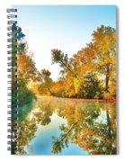 Gibralter Mi Waterway Spiral Notebook