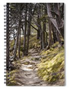 Gibraltar Rock Trail Wisconsin Spiral Notebook