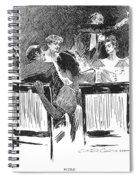 Gibson: Dinner Party, 1894 Spiral Notebook