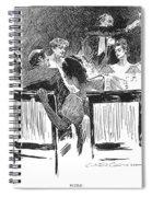 Gibson: Dinner Party, 1894 Spiral Notebook