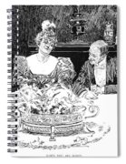 Gibson: Dinner Party Spiral Notebook