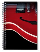 Gibson Es-335 Electric Guitar Spiral Notebook