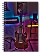 Gibson In Studio Spiral Notebook
