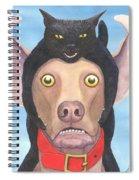 Giddyup Pink Dog Spiral Notebook