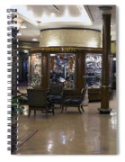 Gift Shops Queen Mary Ocean Liner Spiral Notebook