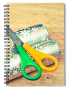 Gift Wrapping Spiral Notebook
