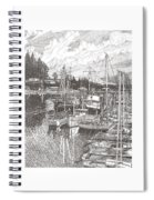 Gig Harbor Entrance Spiral Notebook