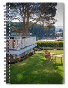 Gig Harbor View 1 Spiral Notebook