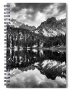 Gilbert Lake And University Peak Spiral Notebook