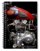 Gilera Saturno Engine 2 Spiral Notebook
