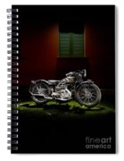 Gilera Vl Lusso And Italian House Spiral Notebook