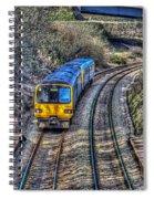 Gilfach Fargoed Railway Station Spiral Notebook