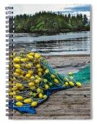 Gill Net Spiral Notebook