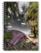 Gilligans Island Black And White 1 Spiral Notebook