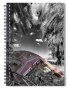 Gilligans Island Black And White 2 Spiral Notebook