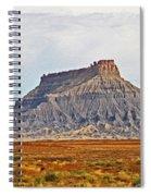 Gilson Peak Along The Colorado River Spiral Notebook