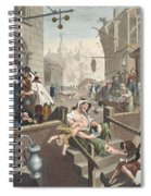 Gin Lane, Illustration From Hogarth Spiral Notebook
