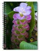 Ginger Flower Spiral Notebook