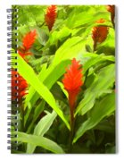 Ginger Spiral Notebook