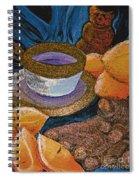 Ginger Lemon Tea 2 By Jrr Spiral Notebook