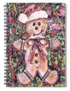 Gingerbread Fantastico Spiral Notebook