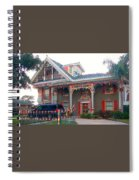 Gingerbread House - Metairie La Spiral Notebook