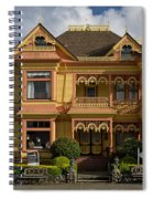 Gingerbread Mansion Spiral Notebook