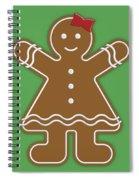 Gingerbread People Spiral Notebook