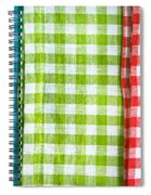 Gingham Spiral Notebook