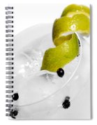 Gintonic Detail Spiral Notebook