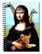 Gioconda Travelling - Africa Spiral Notebook