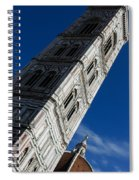 Giotto Fantastic Campanile - Florence Cathedral - Piazza Del Duomo - Italy Spiral Notebook