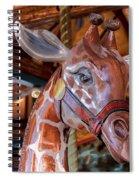 Giraffe Ride Spiral Notebook