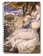 Girl Dreaming Spiral Notebook