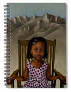 Girl From The Mountain Kingdom Spiral Notebook