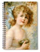 Girl Holding A Nest Spiral Notebook