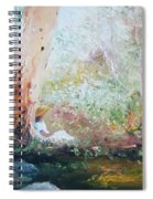 Girl In A White Dress Spiral Notebook