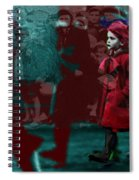 Girl In The Blood-stained Coat Spiral Notebook