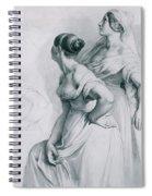 Girl Studies  1839 Spiral Notebook