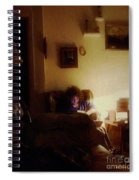 Girl With A Book Spiral Notebook