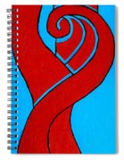 Girl With Celtic Hair Spiral Notebook