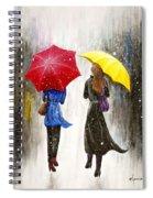 Girlfriends Spiral Notebook