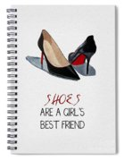Girl's Best Friend Spiral Notebook