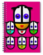 Girls Spiral Notebook