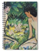 Girls In The Open Air Spiral Notebook